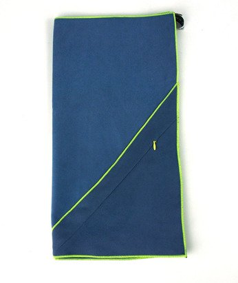 Quick Drying Towel with pocket Dr.Bacty M navy